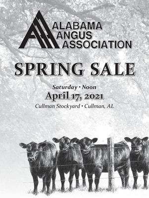 Alabama Angus Association Spring Sale
